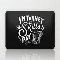 Pay The Bills Laptop & iPad Skin