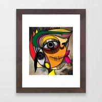 yes Framed Art Print