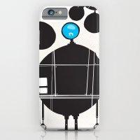 robot iPhone & iPod Cases featuring robot by alex eben meyer