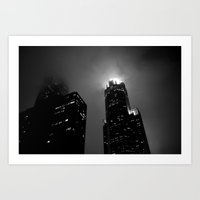 The Torch of Chicago Art Print