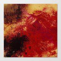 Floor Dweller Canvas Print