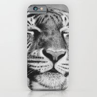 Sleepy Tiger iPhone 6 Slim Case