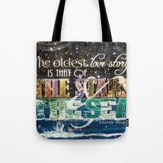 The Stars And The Sea Tote Bag