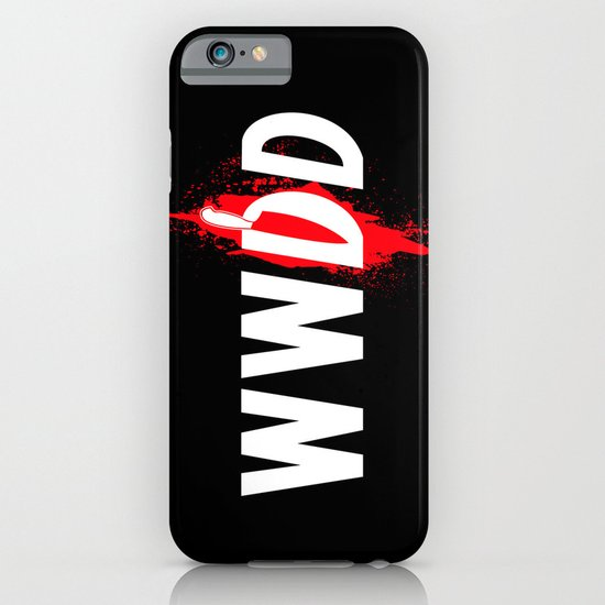 What Would Dexter Do? iPhone & iPod Case