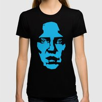 Walken Womens Fitted Tee Black SMALL