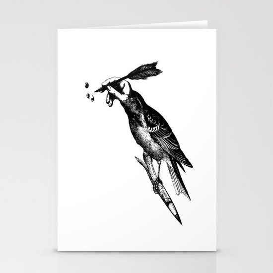 The Experimetal Artist Stationery Card