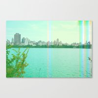 new york spectrum Canvas Print