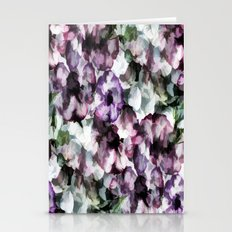 Vintage Floral Abstract Stationery Cards
