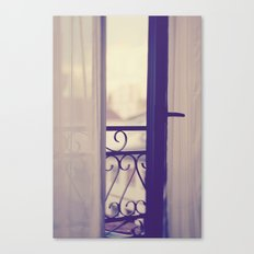 Paris Boudoir  Canvas Print