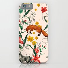 Floral Fox iPhone 6 Slim Case