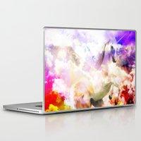 unicorn Laptop & iPad Skins featuring Unicorn  by haroulita