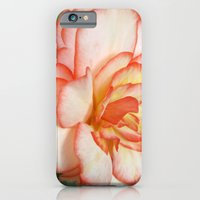 iPhone & iPod Case featuring Pink Blush Rose by Julie