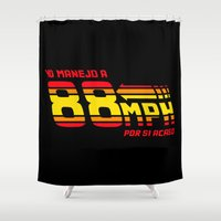 88 mph Shower Curtain
