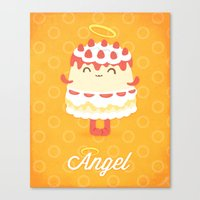 Angel Cake Canvas Print