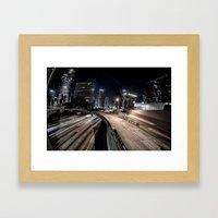 6th st overpass Framed Art Print