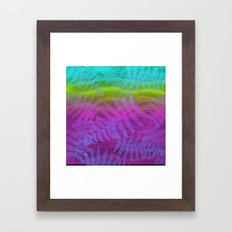 candy breeze Framed Art Print
