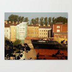 Windows into Europe Canvas Print