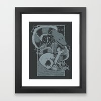 Eelectric Framed Art Print
