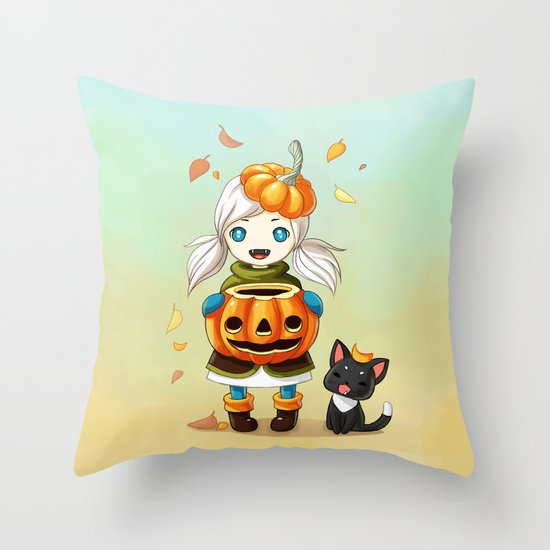 Pumpkin 2 Throw Pillow