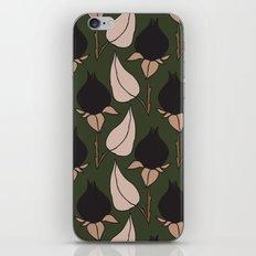 Black Rose Print  iPhone & iPod Skin