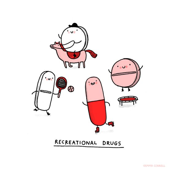 Recreational Drugs Canvas Print
