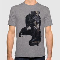 Rapace Mens Fitted Tee Tri-Grey SMALL