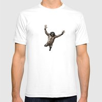 Snuka Mens Fitted Tee White SMALL
