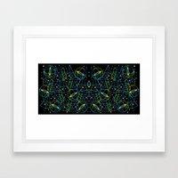 Hidden Galaxies Framed Art Print