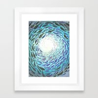 Shoal Framed Art Print