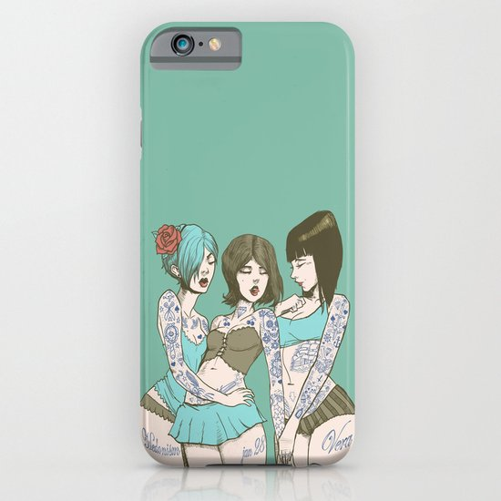 Toygirl Follies iPhone & iPod Case