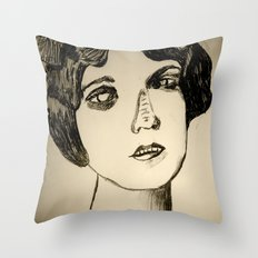 1922 Lila Lee portrait Throw Pillow