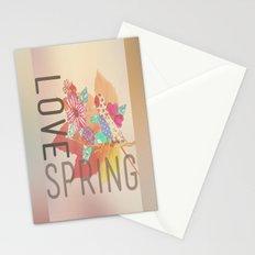 LOVE SPRING Stationery Cards