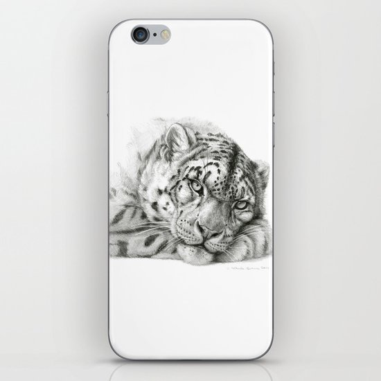 Pensive Snow Leopard G2011-011 iPhone & iPod Skin