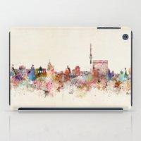 berlin germany city skyline iPad Case