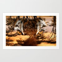 Out Of Africa Art Print
