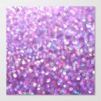 La La Lavender Canvas Print