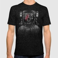Major Tom Mens Fitted Tee Tri-Black SMALL