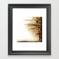 Pathes Framed Art Print