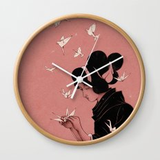 Becoming the Birds Wall Clock