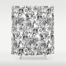 Love And Hugs Shower Curtain