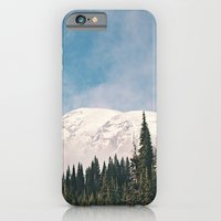 Mount Rainier in the Winter iPhone 6 Slim Case