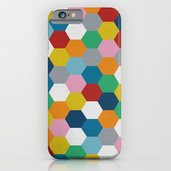 Honeycomb 3 iPhone & iPod Case