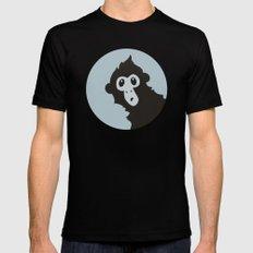 Spider Monkey - Peekaboo! Mens Fitted Tee Black SMALL