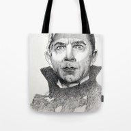 Dracula Bela Lugosi Tote Bag