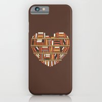 iPhone & iPod Case featuring I Heart Books by renduh
