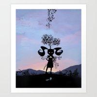 Poison Ivy Kid Art Print