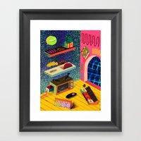 Teleplasma Entertainment… Framed Art Print