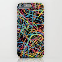 iPhone Cases featuring This is a Drunk Pattern by Danny Ivan