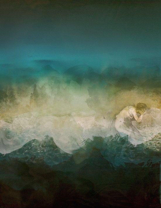 Lost @ Sea Art Print