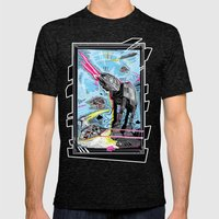 Battle Of Hoth Mens Fitted Tee Tri-Black SMALL
